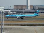 セッキーさんが、羽田空港で撮影した大韓航空 777-3B5の航空フォト(写真)