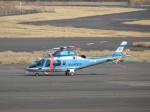 JA655Jさんが、岡南飛行場で撮影した岡山県警察 A109E Powerの航空フォト(写真)