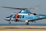 動物村猫君さんが、大分空港で撮影した大分県警察 A109E Powerの航空フォト(写真)