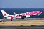 yabyanさんが、中部国際空港で撮影した日本トランスオーシャン航空 737-8Q3の航空フォト(写真)