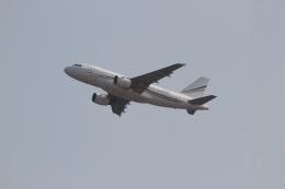 さんみさんが、香港国際空港で撮影したロタナ・ジェット・アヴィエーション A319-115CJの航空フォト(飛行機 写真・画像)