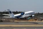 RUNWAY24さんが、成田国際空港で撮影したマレーシア航空 A380-841の航空フォト(飛行機 写真・画像)