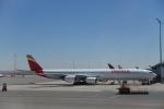 とらとらさんが、マドリード・バラハス国際空港で撮影したイベリア航空 A340-642の航空フォト(写真)