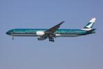 けいとパパさんが、羽田空港で撮影したキャセイパシフィック航空 777-367/ERの航空フォト(写真)