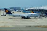 FRTさんが、関西国際空港で撮影したルフトハンザドイツ航空 747-430の航空フォト(飛行機 写真・画像)