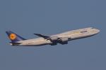AkilaYさんが、羽田空港で撮影したルフトハンザドイツ航空 747-830の航空フォト(写真)