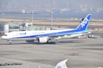 Yu-さんが、羽田空港で撮影した全日空 777-281/ERの航空フォト(写真)