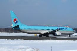 セブンさんが、新千歳空港で撮影した大韓航空 737-9B5の航空フォト(写真)