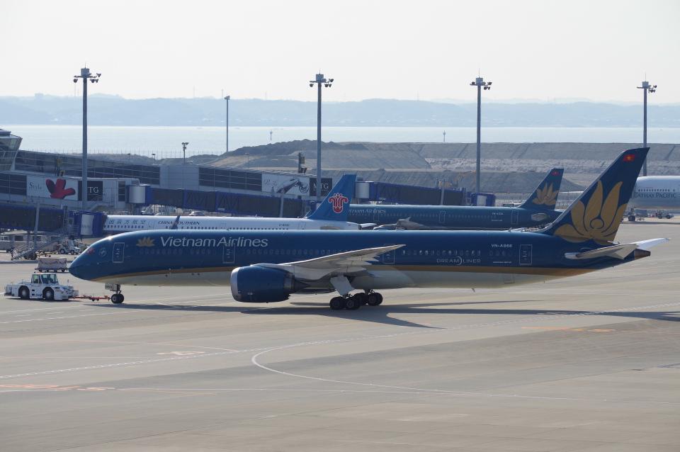 yabyanさんのベトナム航空 Boeing 787-9 (VN-A866) 航空フォト