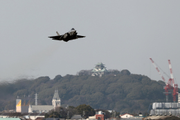 AkiChup0nさんが、名古屋飛行場で撮影した航空自衛隊 F-35A Lightning IIの航空フォト(飛行機 写真・画像)