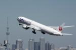 FSXさんが、羽田空港で撮影した日本航空 777-346/ERの航空フォト(写真)
