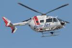 せぷてんばーさんが、東京ヘリポートで撮影した朝日航洋 BK117C-2の航空フォト(写真)