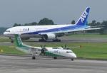 M.Ochiaiさんが、鹿児島空港で撮影したANAウイングス DHC-8-402Q Dash 8の航空フォト(写真)