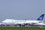 senyoさんが、成田国際空港で撮影したガルーダ・インドネシア航空 747-2U3Bの航空フォト(写真)