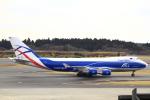 とらとらさんが、成田国際空港で撮影したカーゴロジックエア 747-428F/ER/SCDの航空フォト(飛行機 写真・画像)