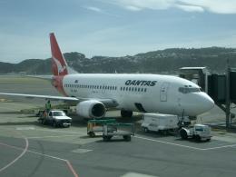 JA8037さんが、ウェリントン国際空港で撮影したジェットコネクト 737-376の航空フォト(飛行機 写真・画像)
