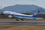 qooさんが、高松空港で撮影した全日空 777-281/ERの航空フォト(写真)