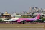 やまさんが、高雄国際空港で撮影したピーチ A320-214の航空フォト(写真)