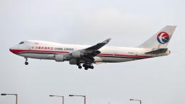 誘喜さんが、香港国際空港で撮影した中国貨運航空 747-412F/SCDの航空フォト(飛行機 写真・画像)