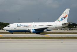VQ-BELさんが、フォートローダーデール・ハリウッド国際空港で撮影したバハマスエア 737-2K5/Advの航空フォト(飛行機 写真・画像)