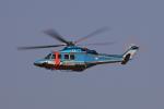 じゃりんこさんが、名古屋飛行場で撮影した鹿児島県警察 AW139の航空フォト(写真)