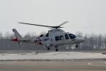 E-75さんが、函館空港で撮影した岩崎産業 AW109SP GrandNewの航空フォト(写真)