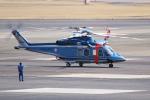 yabyanさんが、名古屋飛行場で撮影した北海道警察 AW139の航空フォト(飛行機 写真・画像)