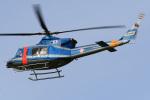 A-Chanさんが、札幌飛行場で撮影した北海道警察 412EPの航空フォト(写真)