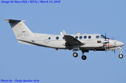 Chofu Spotter Ariaさんが、厚木飛行場で撮影したアメリカ海兵隊 UC-12W Super King Air (A200C)の航空フォト(飛行機 写真・画像)