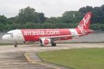 Ariesさんが、シンガポール・チャンギ国際空港で撮影したタイ・エアアジア A320-216の航空フォト(写真)