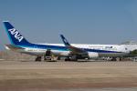 delawakaさんが、上海浦東国際空港で撮影した全日空 767-381/ERの航空フォト(飛行機 写真・画像)