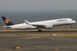たみぃさんが、羽田空港で撮影したルフトハンザドイツ航空 A350-941XWBの航空フォト(写真)