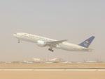 cornicheさんが、キング・ハーリド国際空港で撮影したサウディア 777-268/ERの航空フォト(写真)