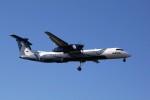 トールさんが、成田国際空港で撮影したオーロラ DHC-8-402Q Dash 8の航空フォト(写真)
