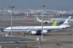 T.Sazenさんが、羽田空港で撮影したクウェート政府 A340-542の航空フォト(飛行機 写真・画像)