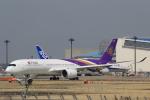 多楽さんが、成田国際空港で撮影したタイ国際航空 A350-941XWBの航空フォト(写真)