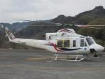 ランチパッドさんが、静岡ヘリポートで撮影した四国航空 412EPの航空フォト(写真)