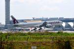まいけるさんが、スワンナプーム国際空港で撮影したカタール航空 777-3DZ/ERの航空フォト(写真)