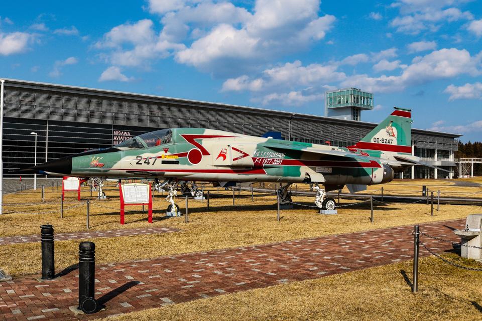 KAMIYA JASDFさんの航空自衛隊 Mitsubishi F-1 (00-8247) 航空フォト
