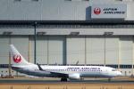 なまくら はげるさんが、成田国際空港で撮影した日本航空 737-846の航空フォト(写真)