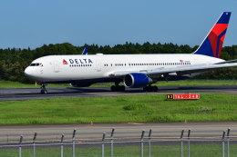 南国の防人さんが、成田国際空港で撮影したデルタ航空 767-3P6/ERの航空フォト(飛行機 写真・画像)
