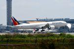 まいけるさんが、スワンナプーム国際空港で撮影したフィリピン航空 777-3F6/ERの航空フォト(写真)