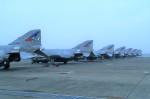レドームさんが、茨城空港で撮影した航空自衛隊 F-4EJ Kai Phantom IIの航空フォト(写真)