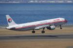 yabyanさんが、中部国際空港で撮影した中国東方航空 A321-211の航空フォト(飛行機 写真・画像)
