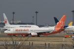 多楽さんが、成田国際空港で撮影したチェジュ航空 737-8BKの航空フォト(写真)