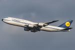 D-AWTRさんが、羽田空港で撮影したルフトハンザドイツ航空 747-830の航空フォト(写真)
