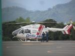 ランチパッドさんが、静岡ヘリポートで撮影したセントラルヘリコプターサービス BK117C-2の航空フォト(写真)