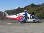 ランチパッドさんが、静岡ヘリポートで撮影した広島県防災航空隊 AW139の航空フォト(写真)