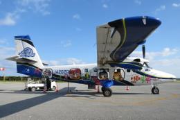 SFJ_capさんが、粟国空港で撮影した第一航空 DHC-6-400 Twin Otterの航空フォト(飛行機 写真・画像)