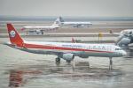 delawakaさんが、上海浦東国際空港で撮影した四川航空 A321-211の航空フォト(飛行機 写真・画像)